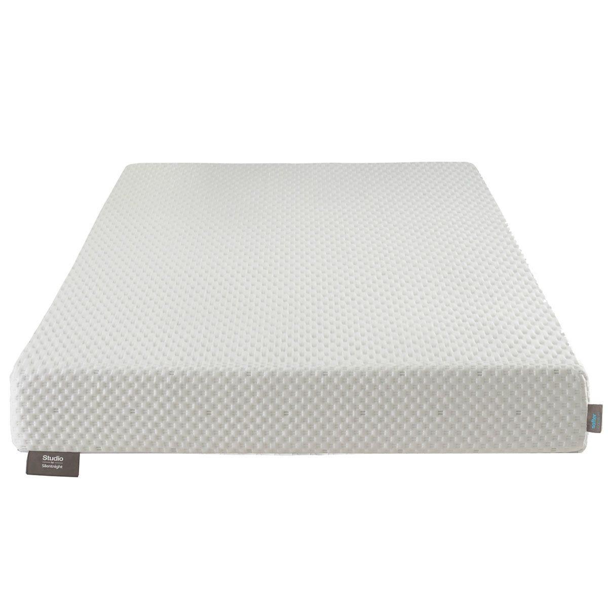 Silentnight Studio Softer Flat Super King Mattress - White