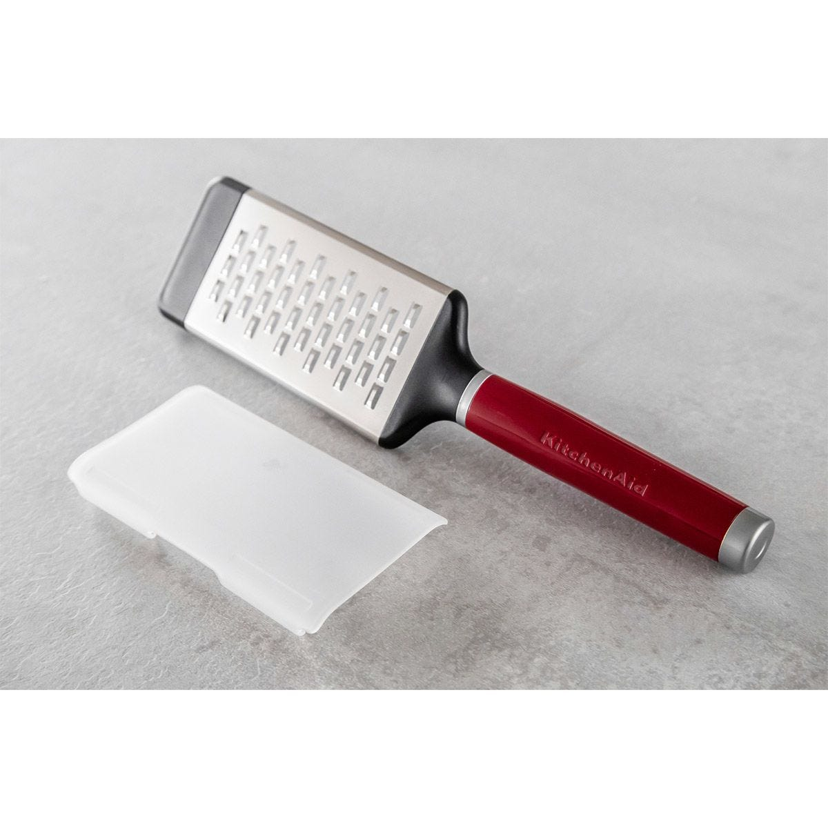 KitchenAid Stainless Steel Medium Etched Grater - Red