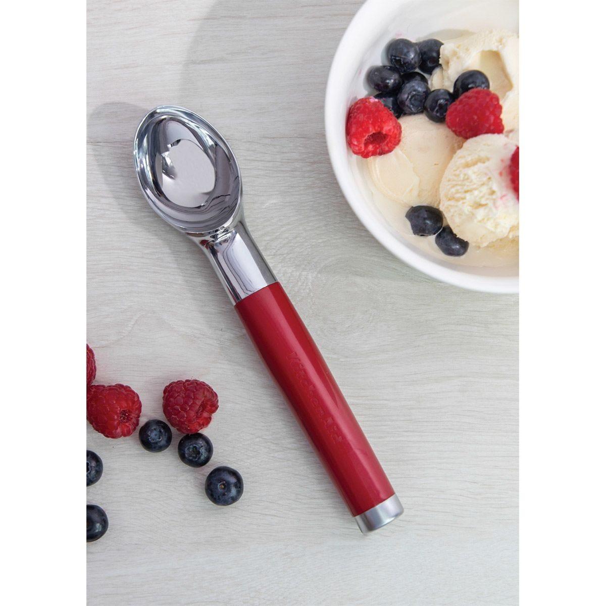 KitchenAid Core Ice Cream Scoop - Red