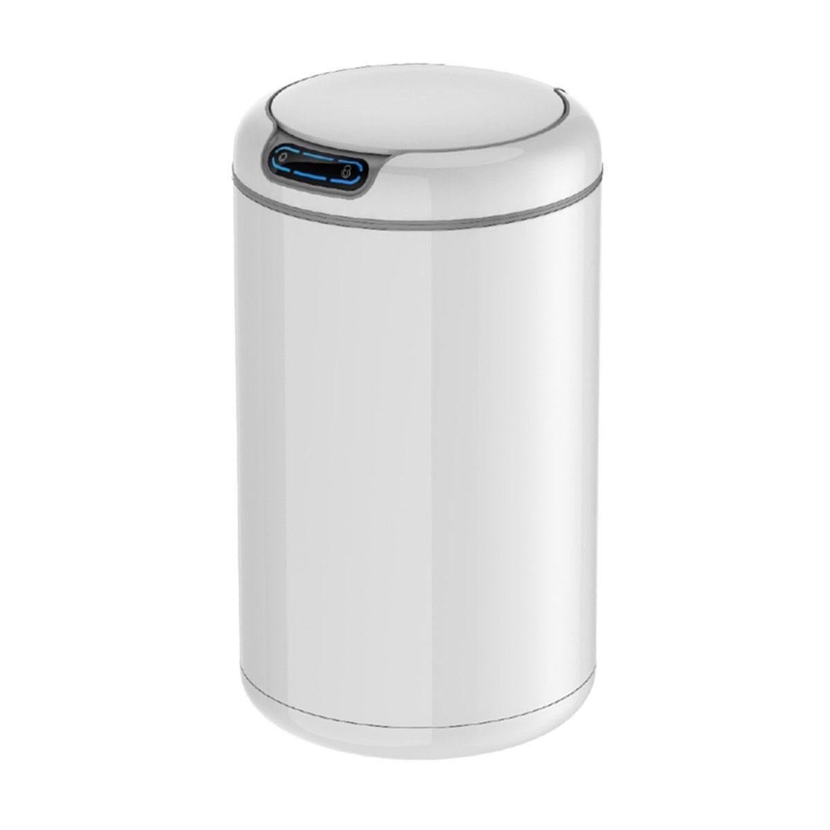 EKO Galleria 9L Sensor Bin - White