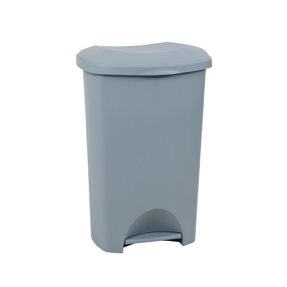 Addis 50L Recycled Pedal Bin - Grey
