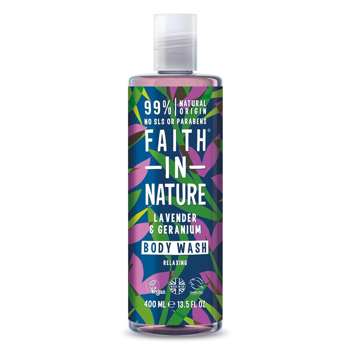 Faith In Nature Lavender Body Wash - 400ml