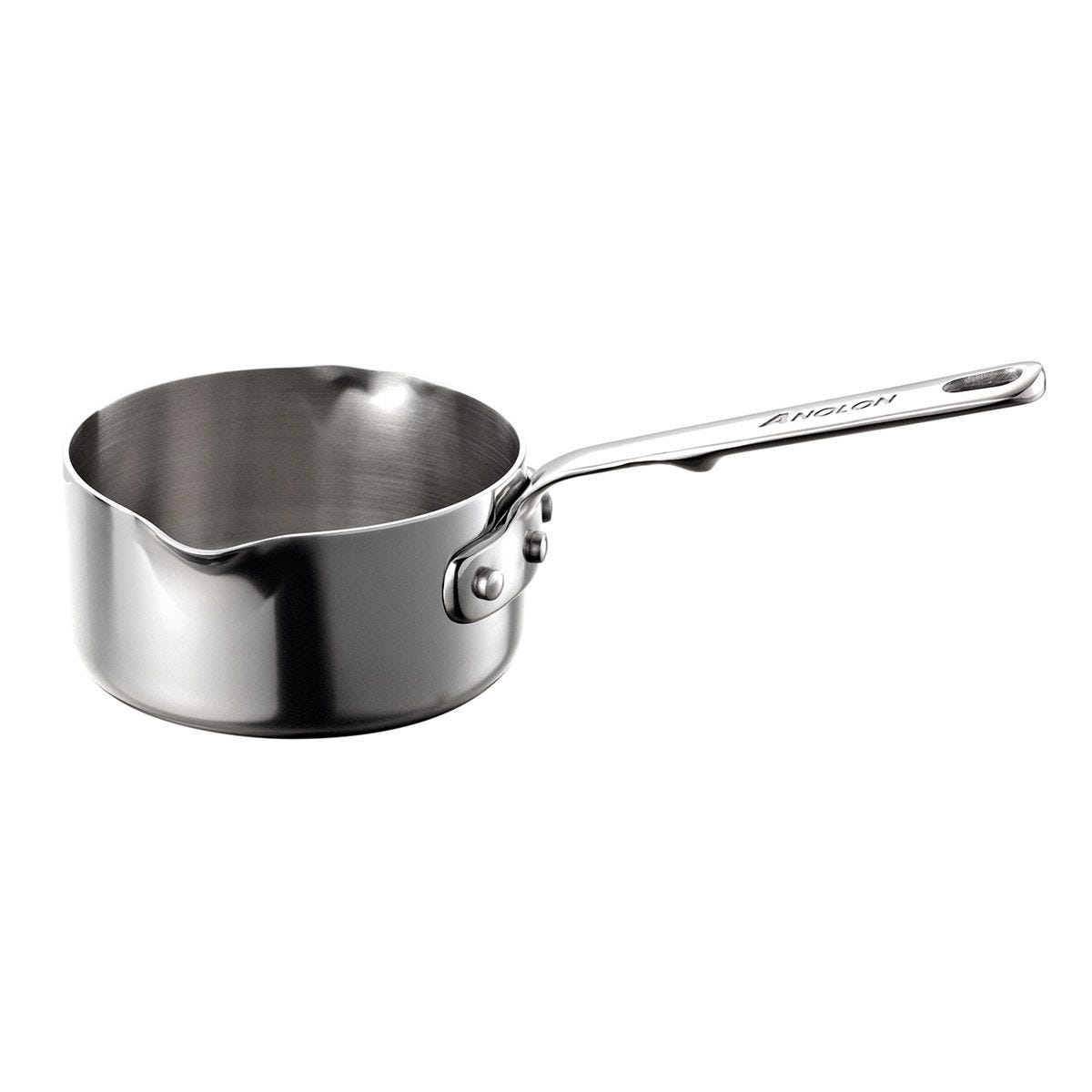 Anolon Tri Ply 14cm Milkpan - Stainless Steel
