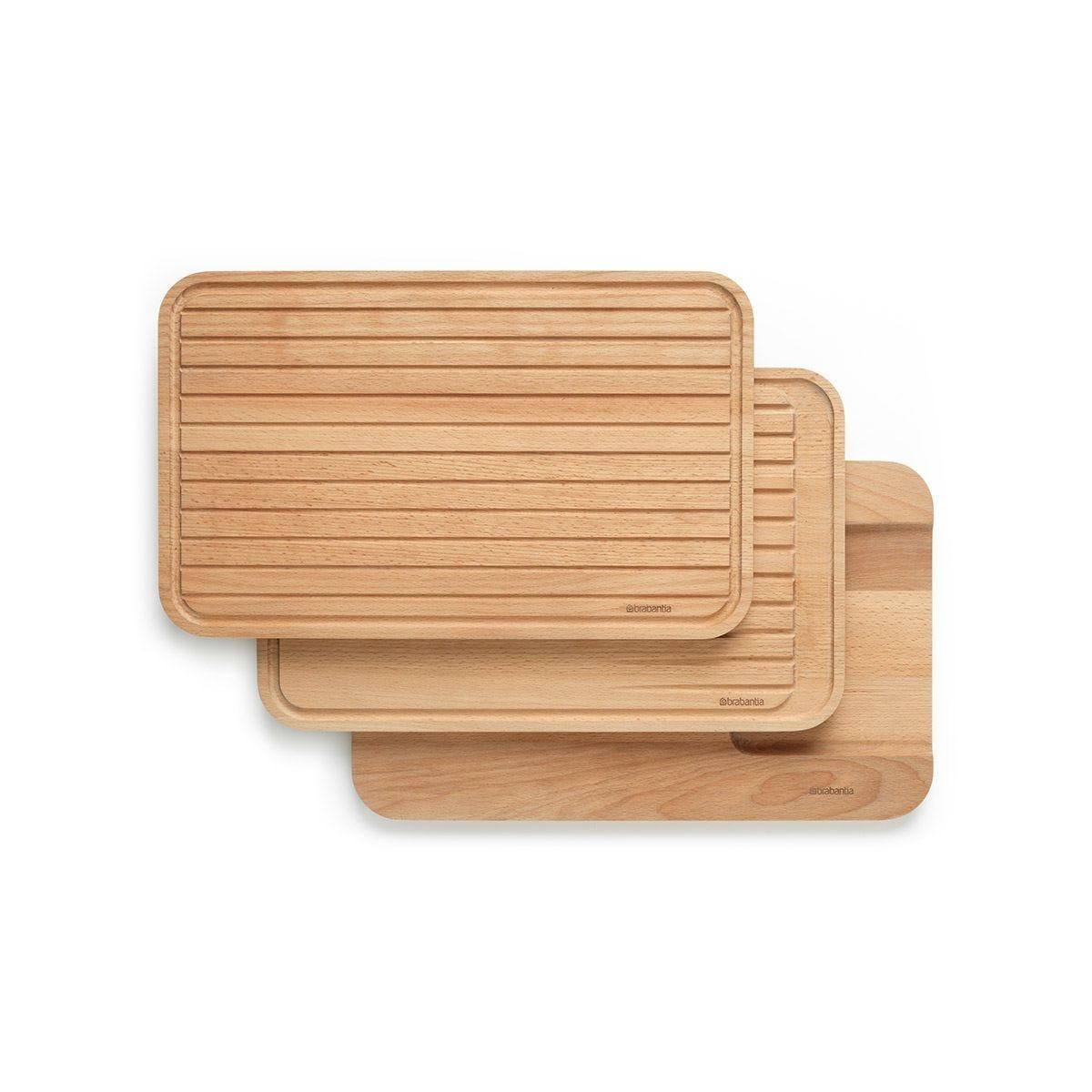 Brabantia Wooden Chopping Board Set of 3 - Profile
