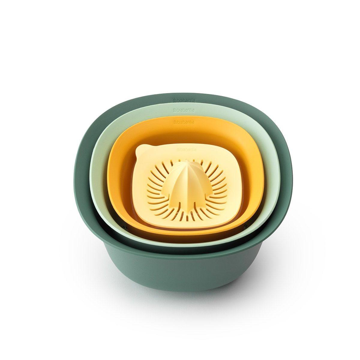 Brabantia Mixing Bowl Set TASTY+ - Mixed