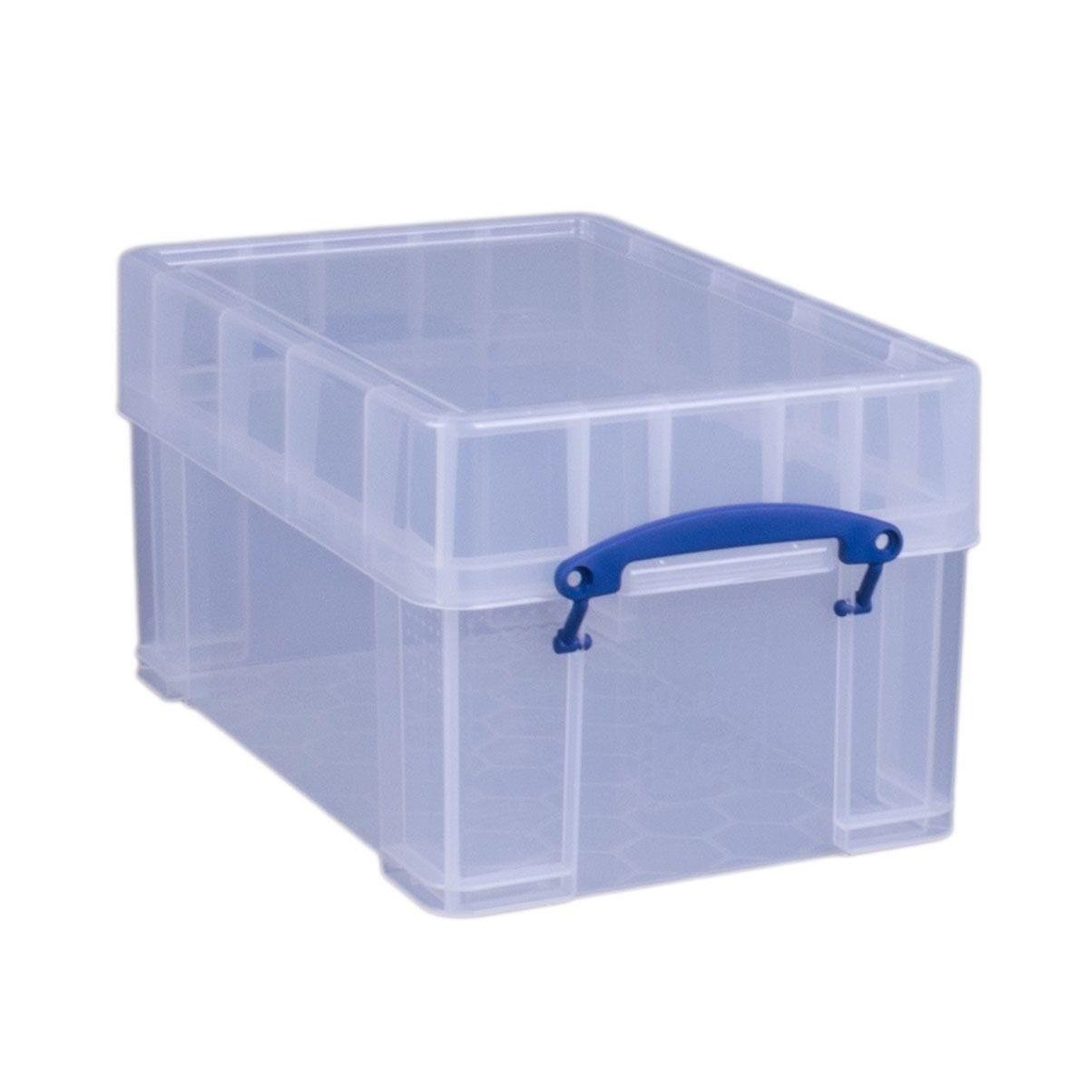 Really Useful 9L XL Storage Box - Clear