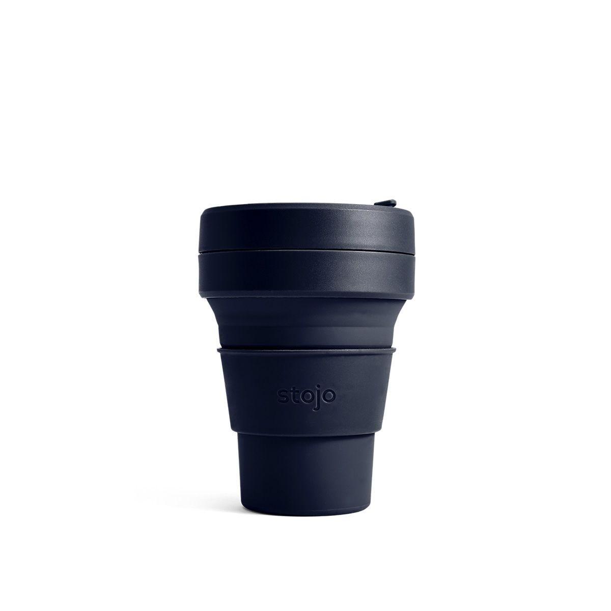 Stojo Mini Collapsible Pocket Cup 8oz - Denim