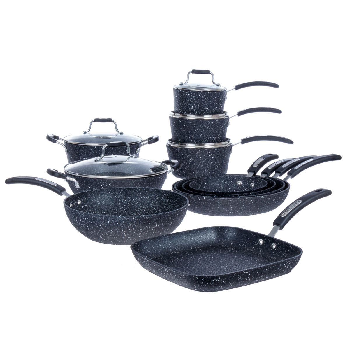 Scoville Neverstick 11-Piece Pan Set