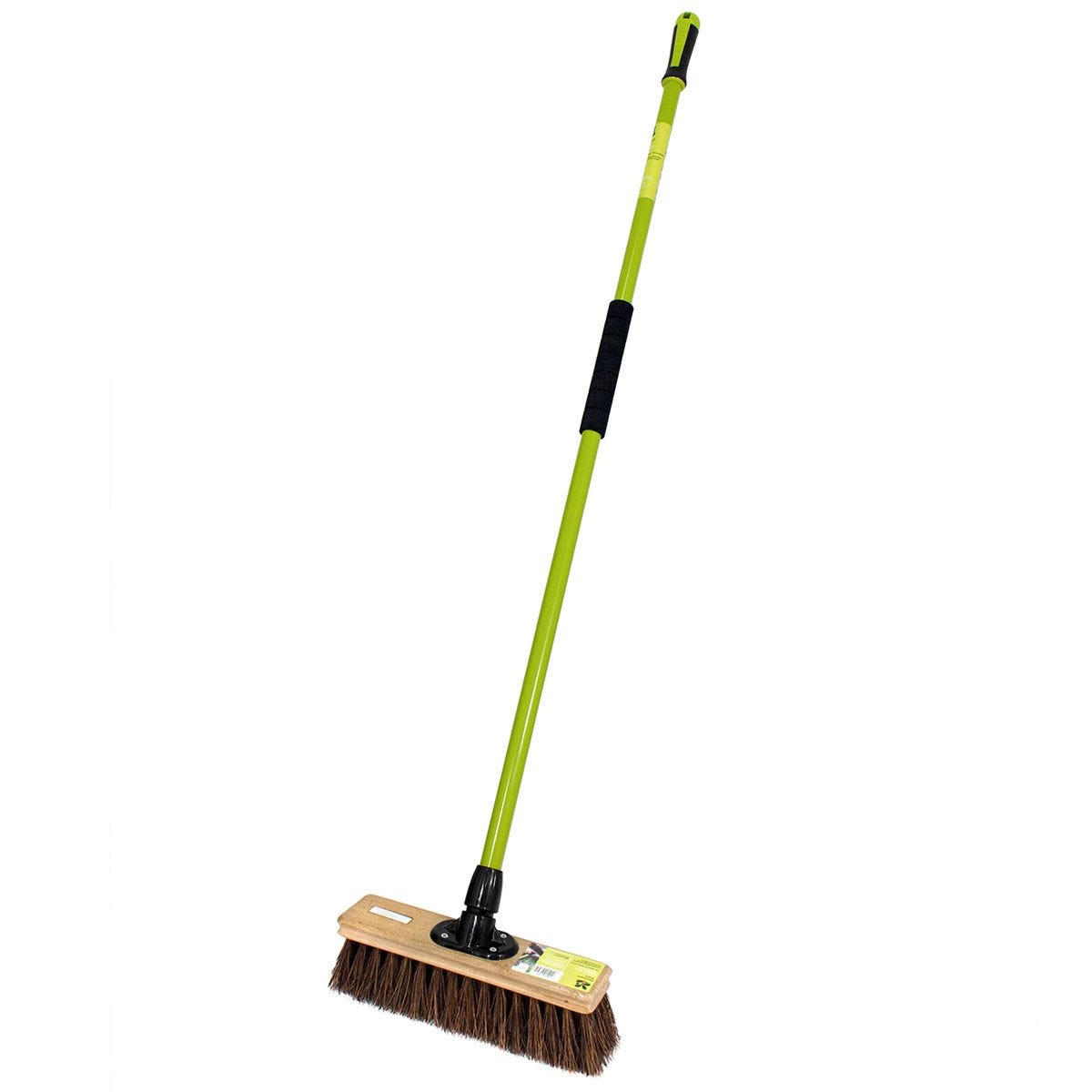 National Trust 12-Inch Bassine Broom with Handle
