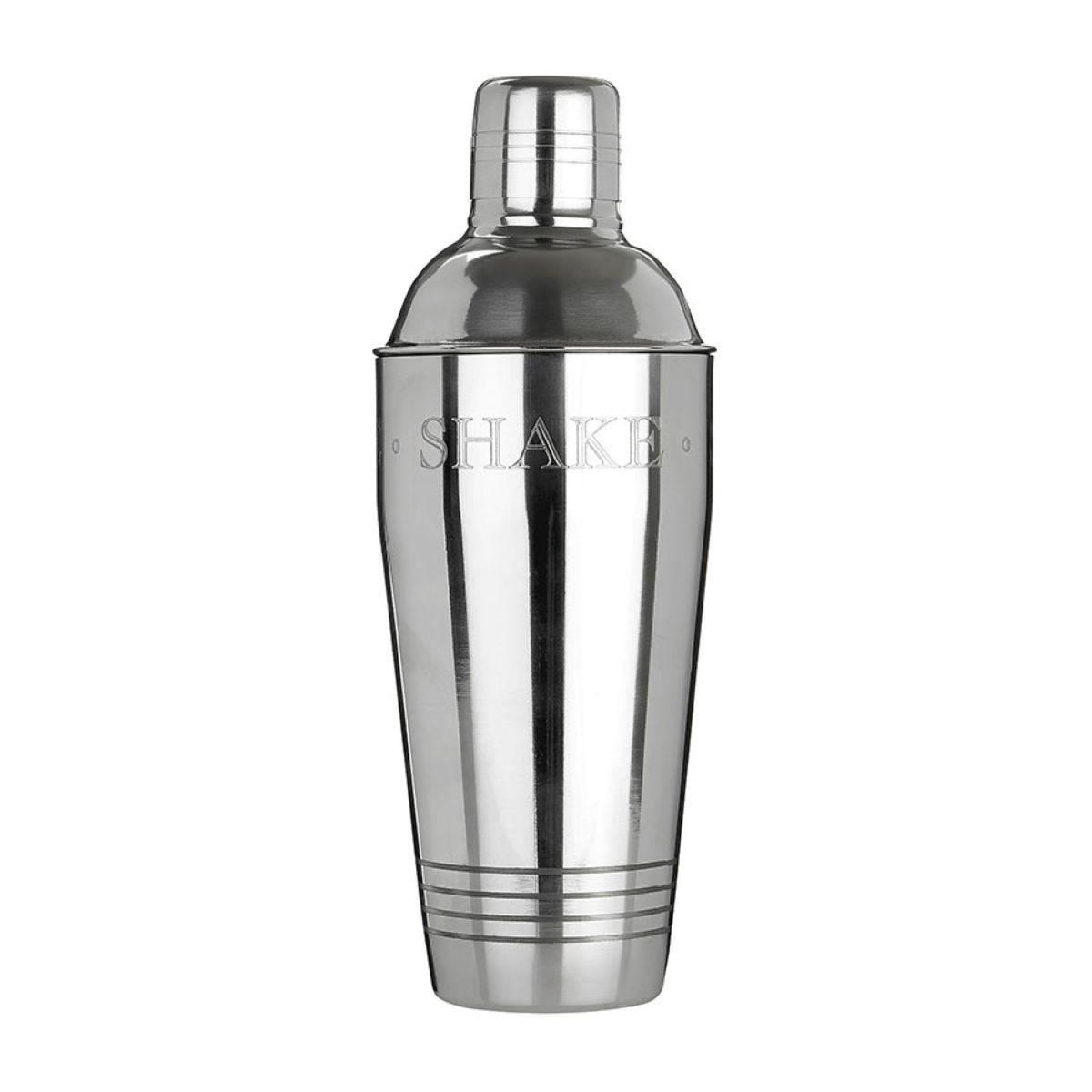 Premier Housewares 750ml Bombay Cocktail Shaker - Stainless Steel