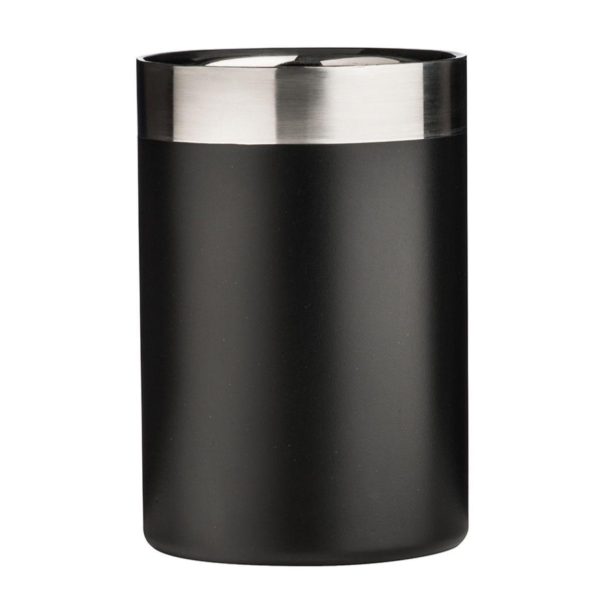 Premier Housewares Stainless Steel Bottle Cooler - Black