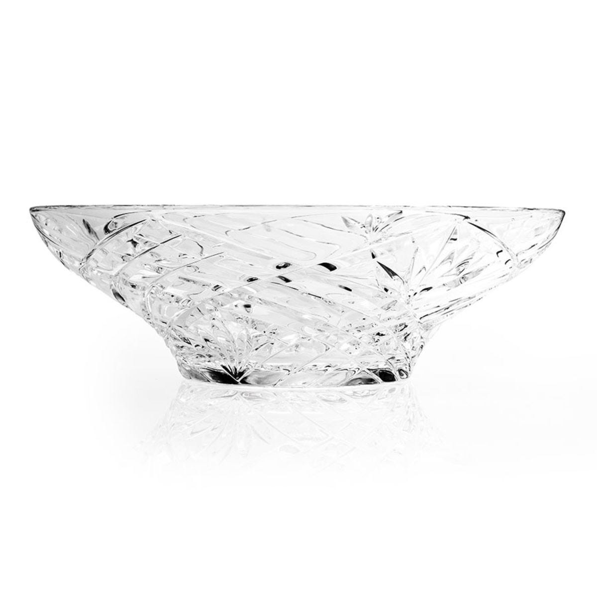 RCR Melodia Crystal Centrepiece Bowl - Clear