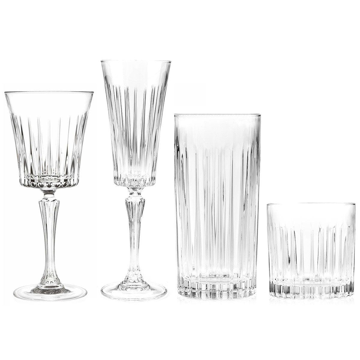 Rcr Timeless Luxion Crystal Drinkware Collection 24 Piece Robert Dyas
