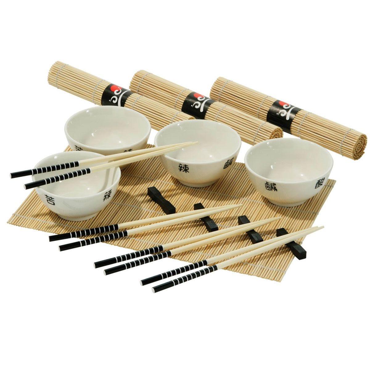 Premier Housewares 16-Piece Chinese Dining Set