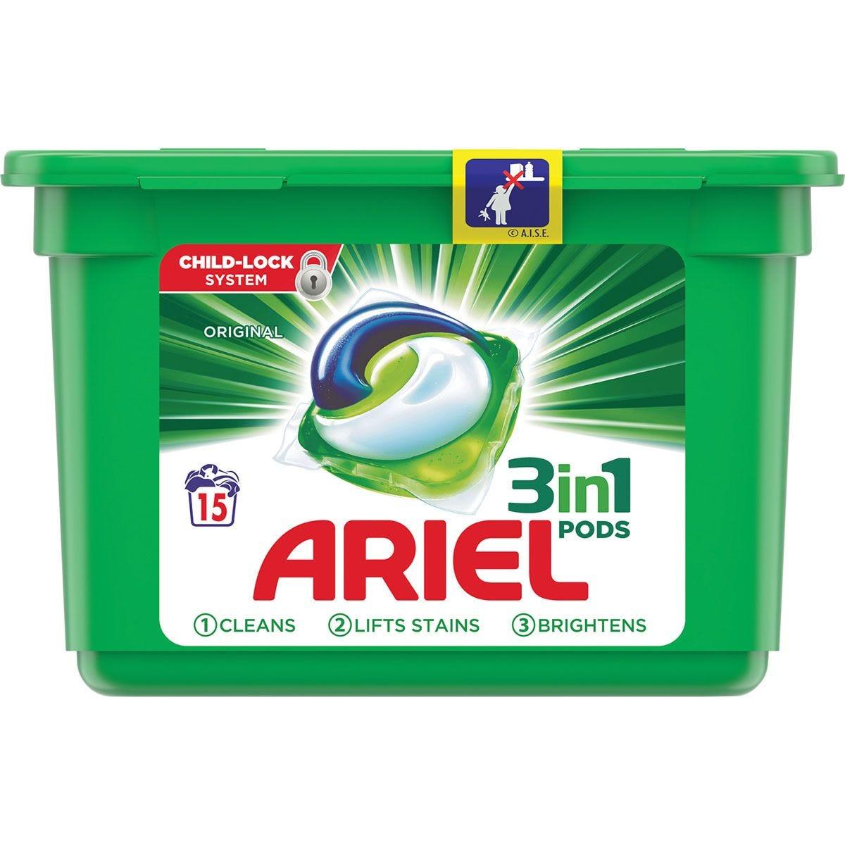 Ariel Original 3 in 1 Washing Pods