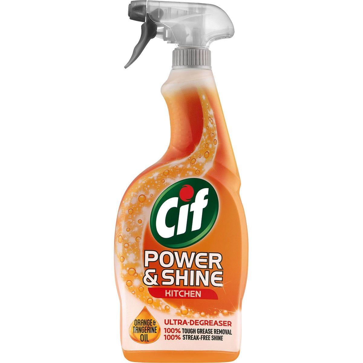 Cif Power & Shine Kitchen Spray - 700ml