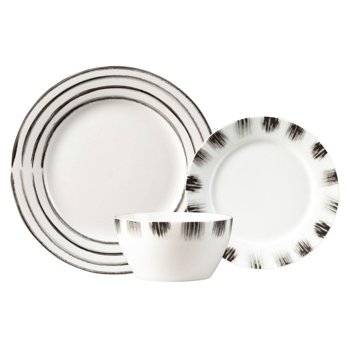 Carnaby Shoreditch 12-Piece Porcelain Dinner Set