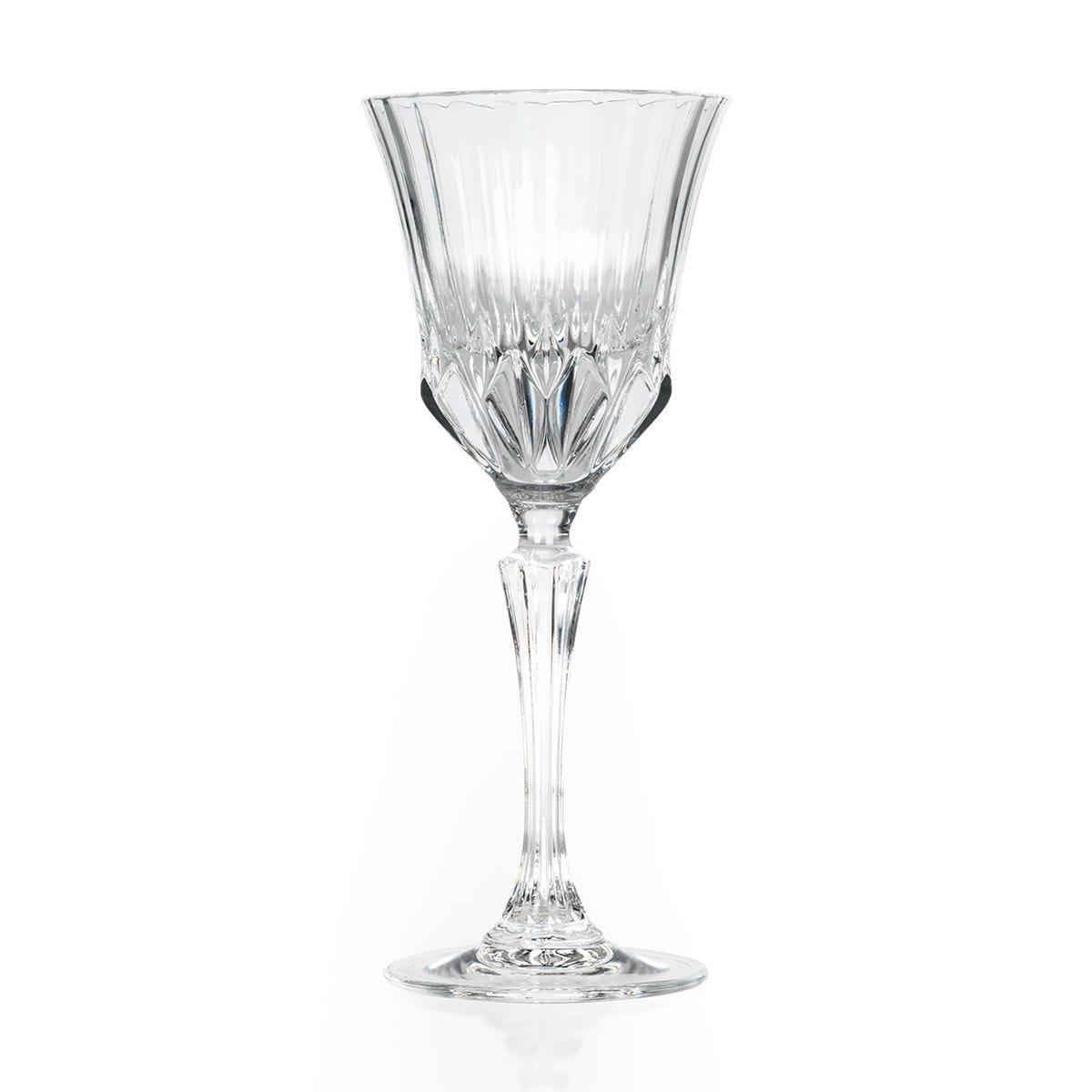 RCR Adagio Crystal Wine Glasses Set of 6