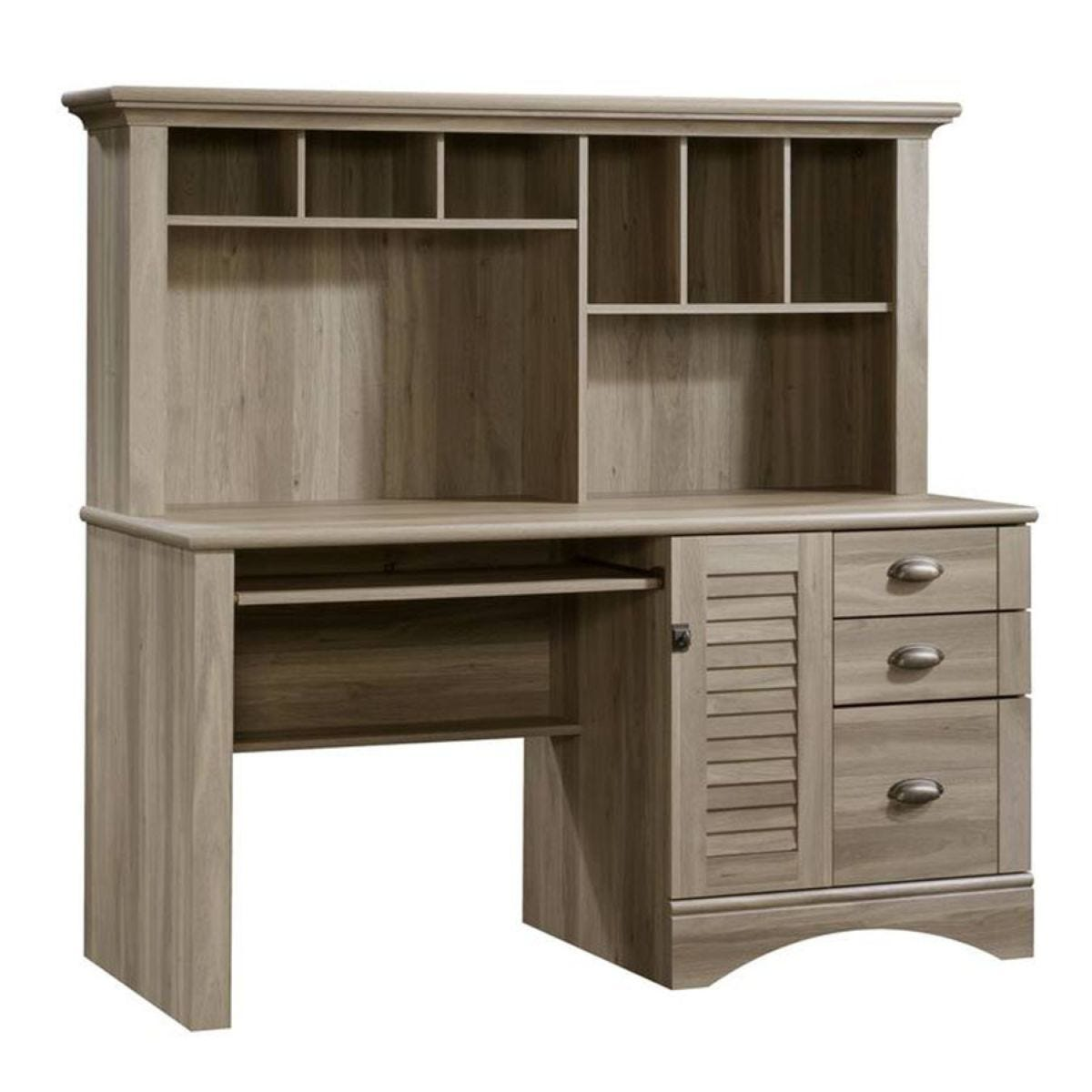 Teknik Louvre Hutch Desk