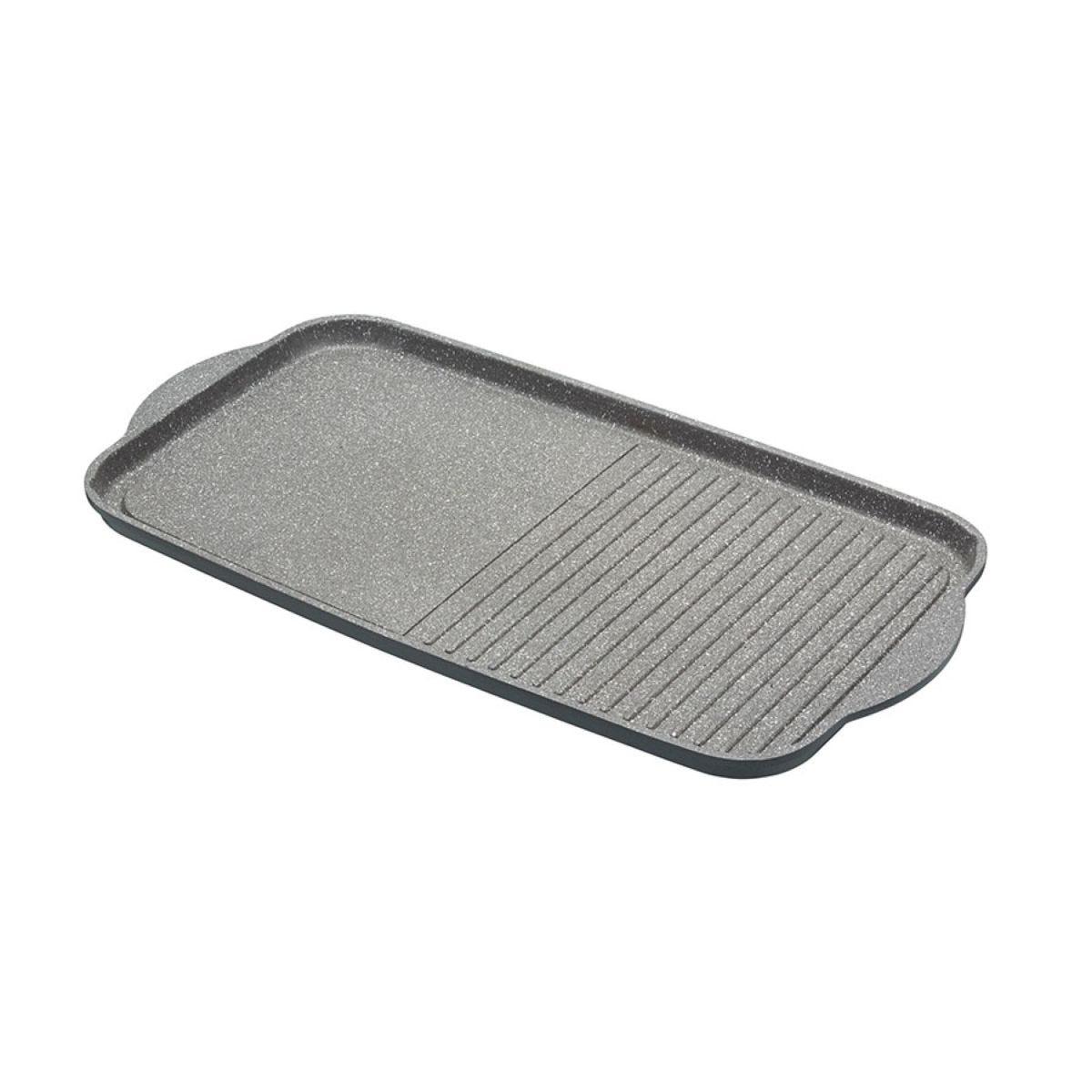MasterClass 51cm Cast Aluminium Dual Griddle Tray