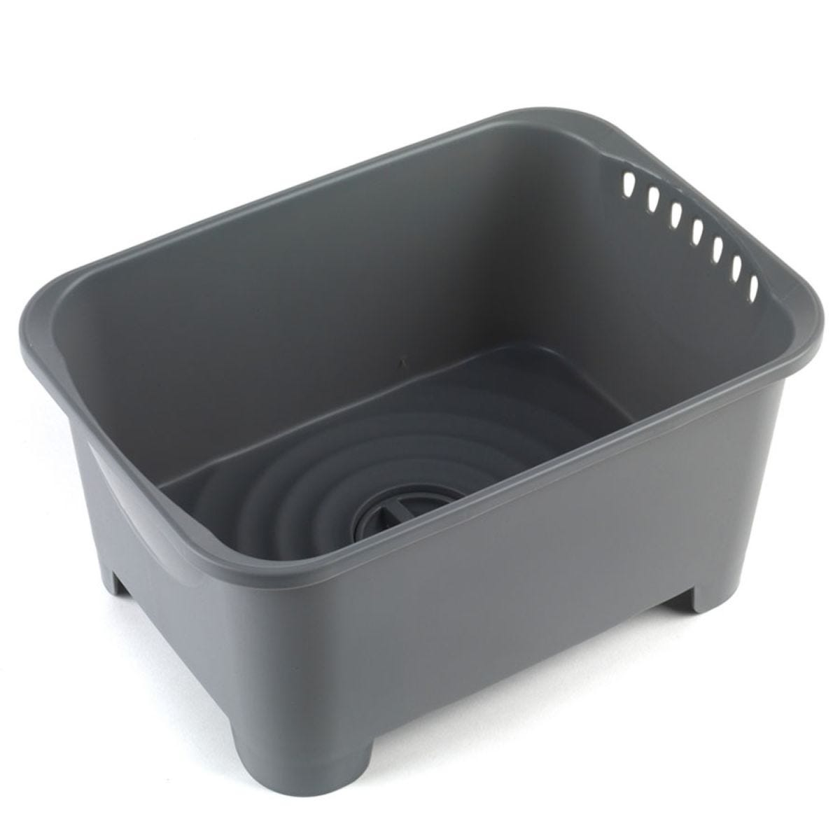 Beldray Washing Up Bowl with Drainer - Grey