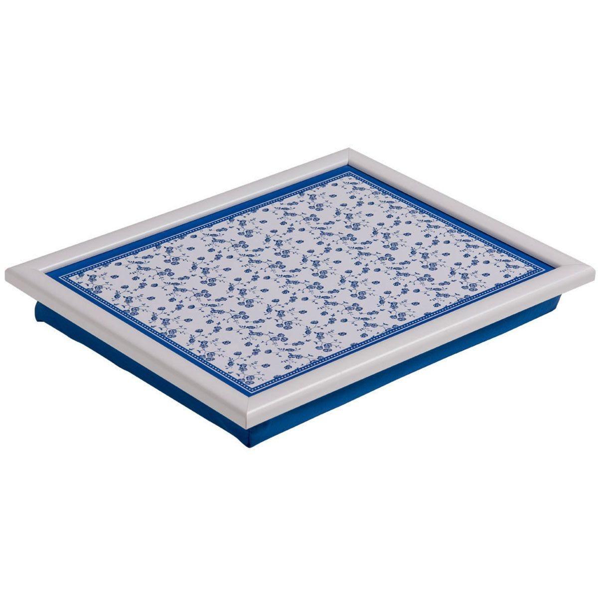 Premier Housewares Rose Lap Tray - Blue