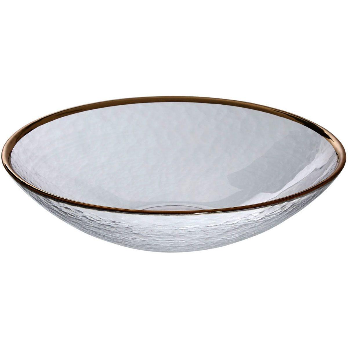 Premier Housewares Clear Glass Bowl