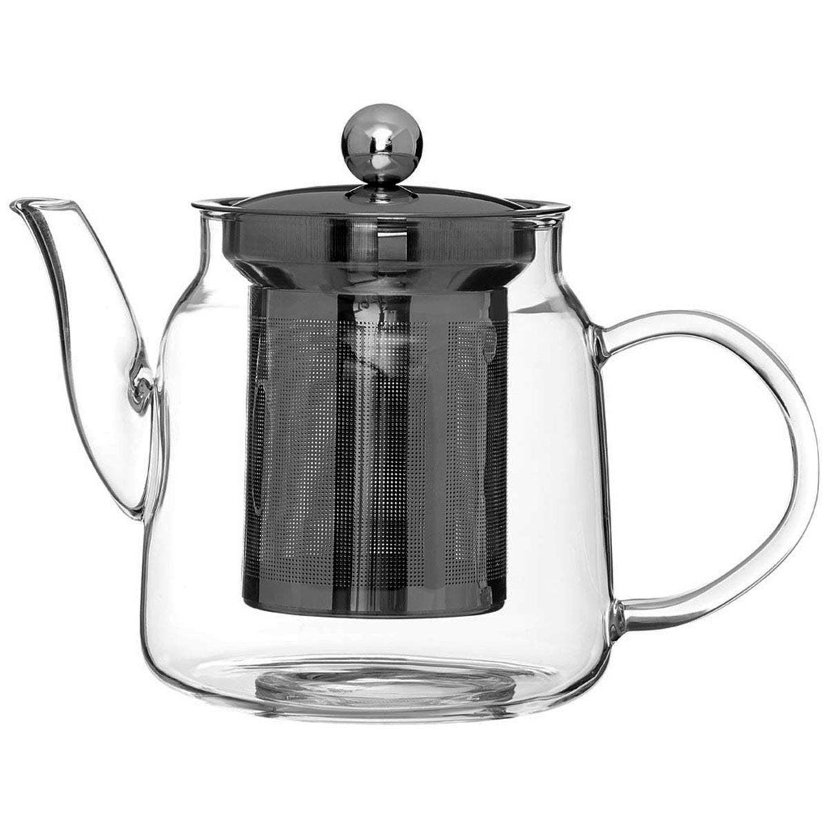 Premier Housewares High Borosilicate Teapot - 650ml