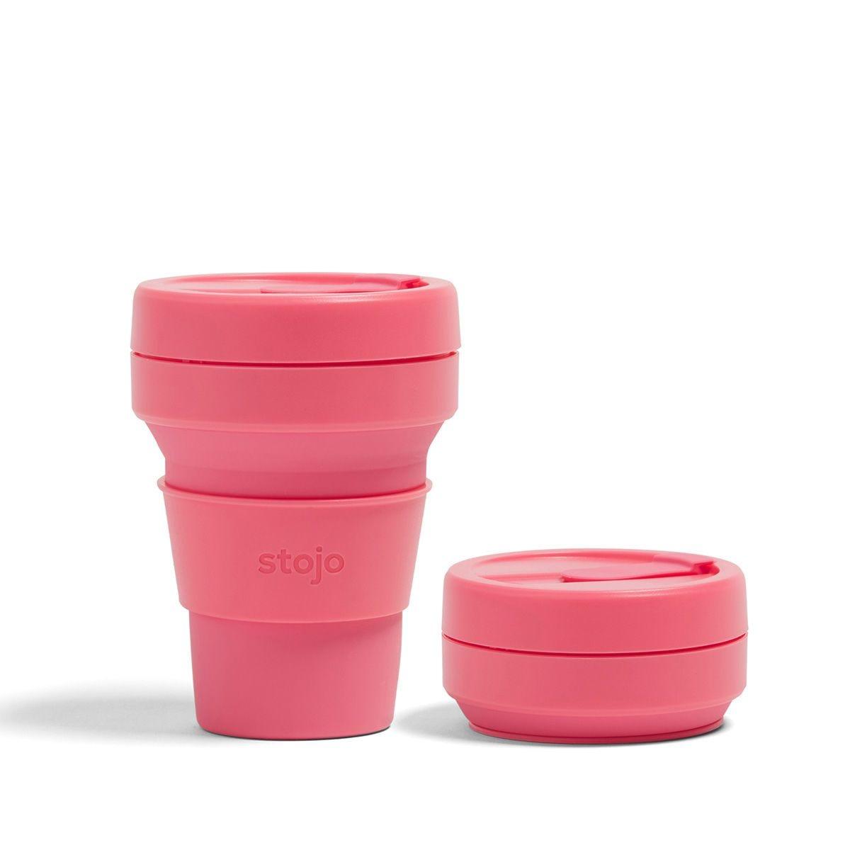 Stojo Collapsible Pocket Cup 12oz - Peony