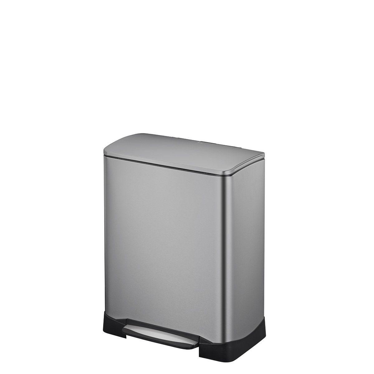 EKO Neo-Cube 28+18L Recycling Bin - Matte Grey