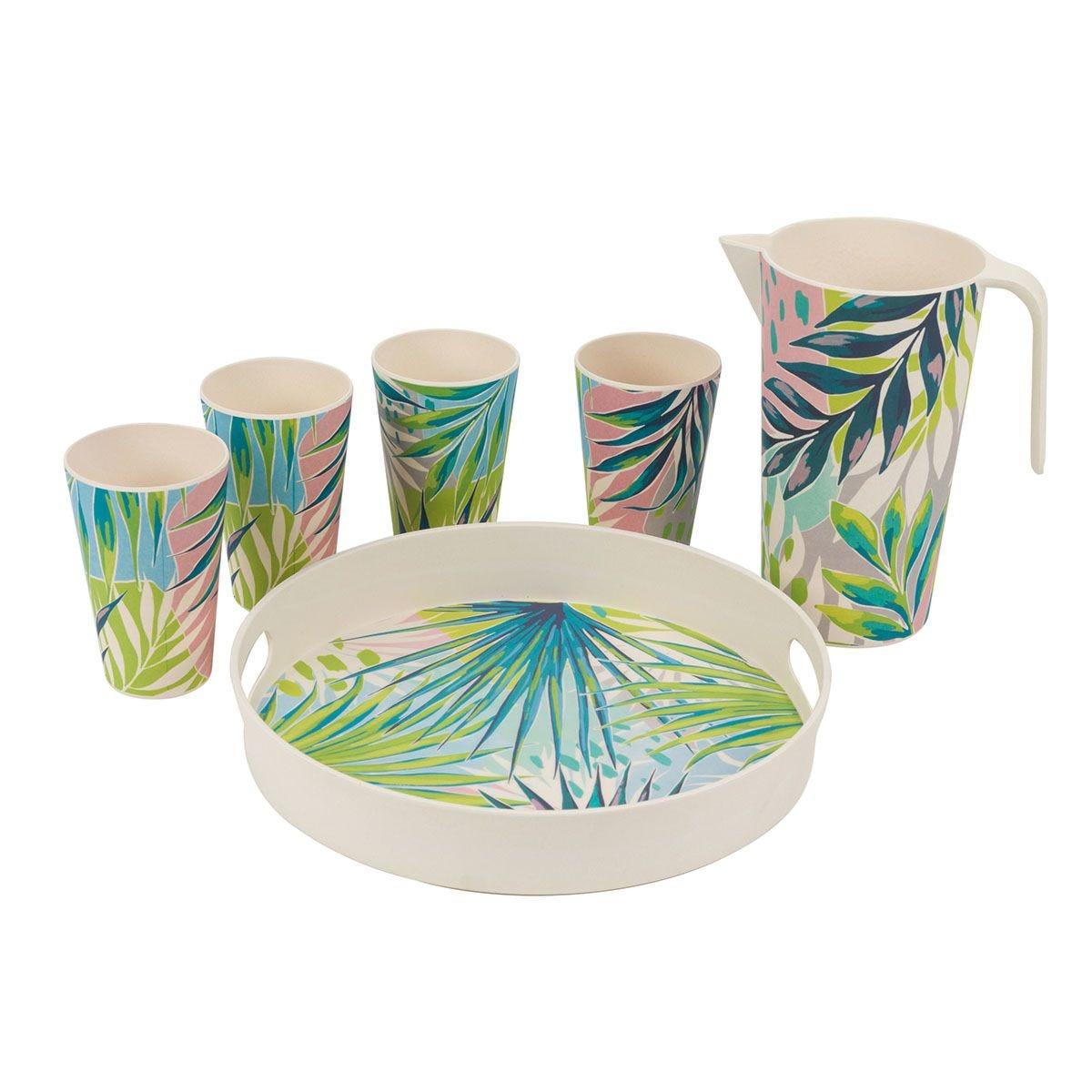 Cambridge Kayan Bamboo Eco-Friendly Tableware Set - 6 Piece