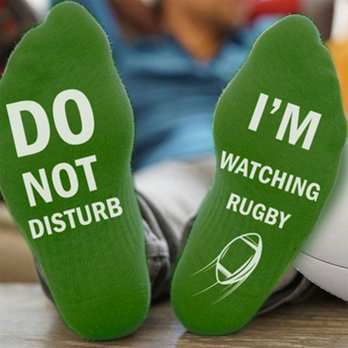 "Flo Socks ""Do Not Disturb""- Green"