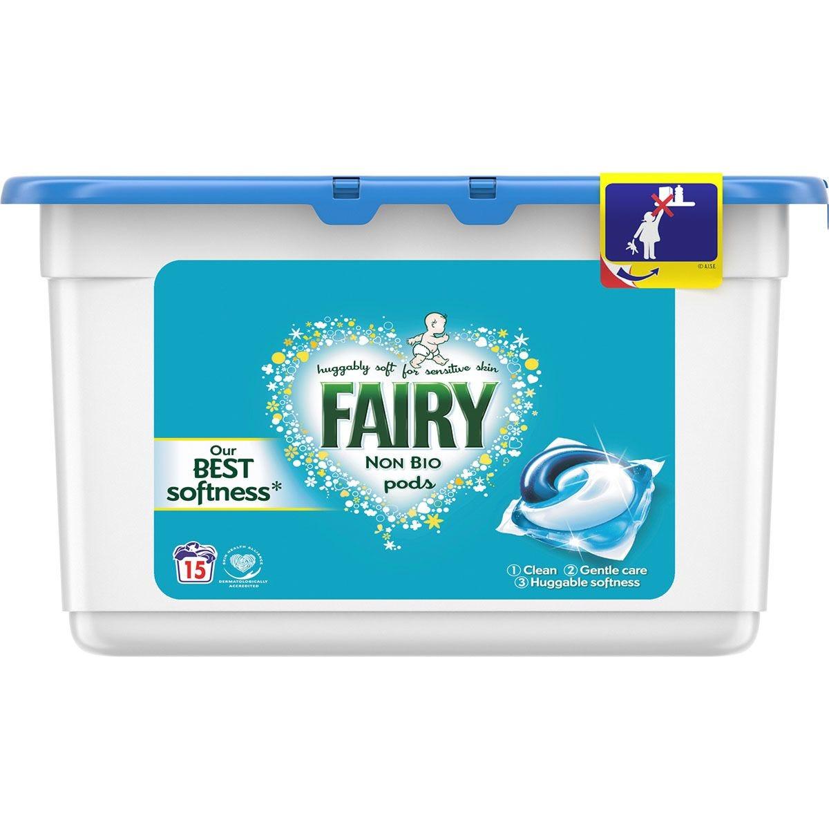 Fairy Non Bio Pods - 15 Washes