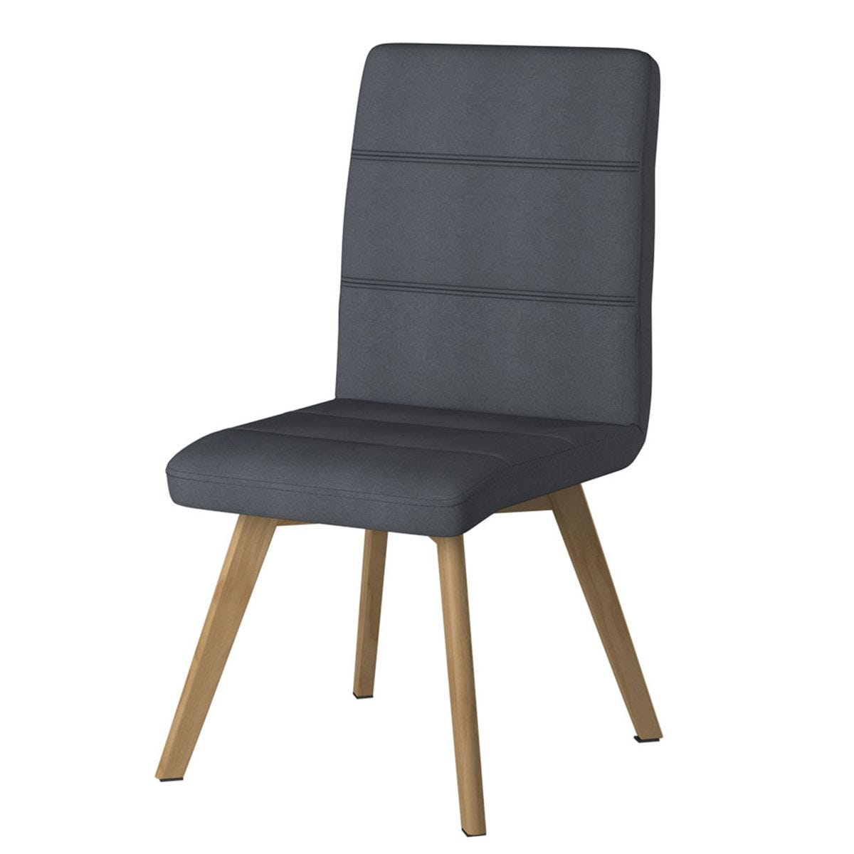 Solstice Mimas Fabric Chair - Taupe