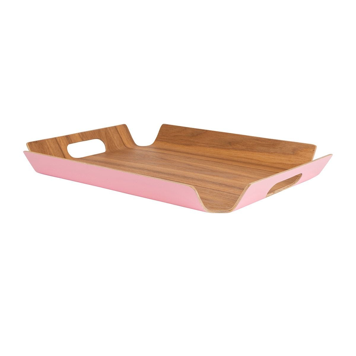 Summerhouse Medium Willow Tray - Candy Pink