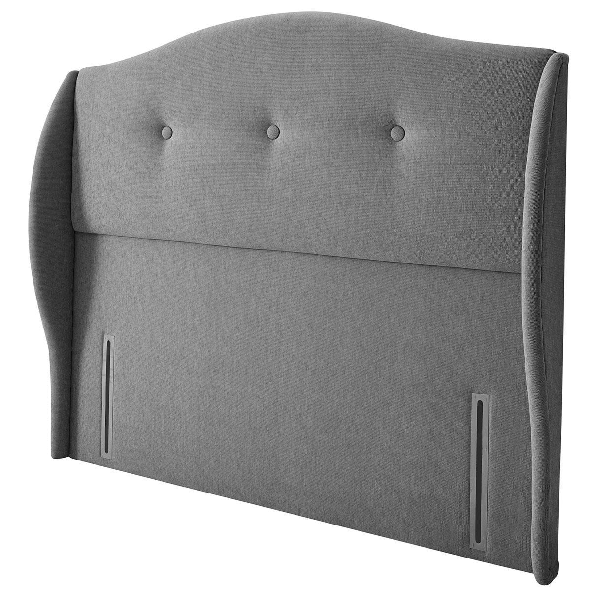 Silentnight Camden Grey Headboard - Super King