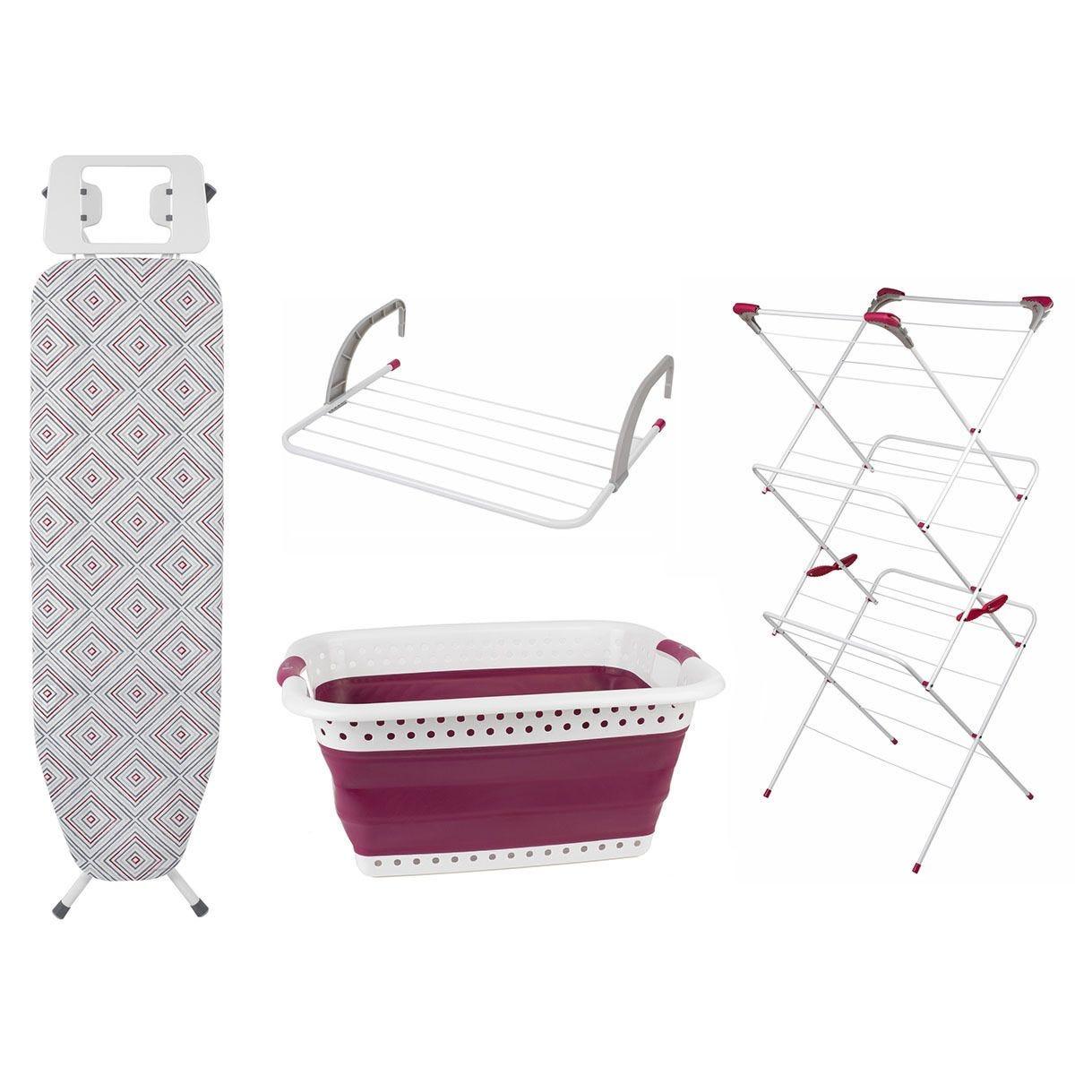 Kleeneze 4 Piece Laundry Set - Diamond
