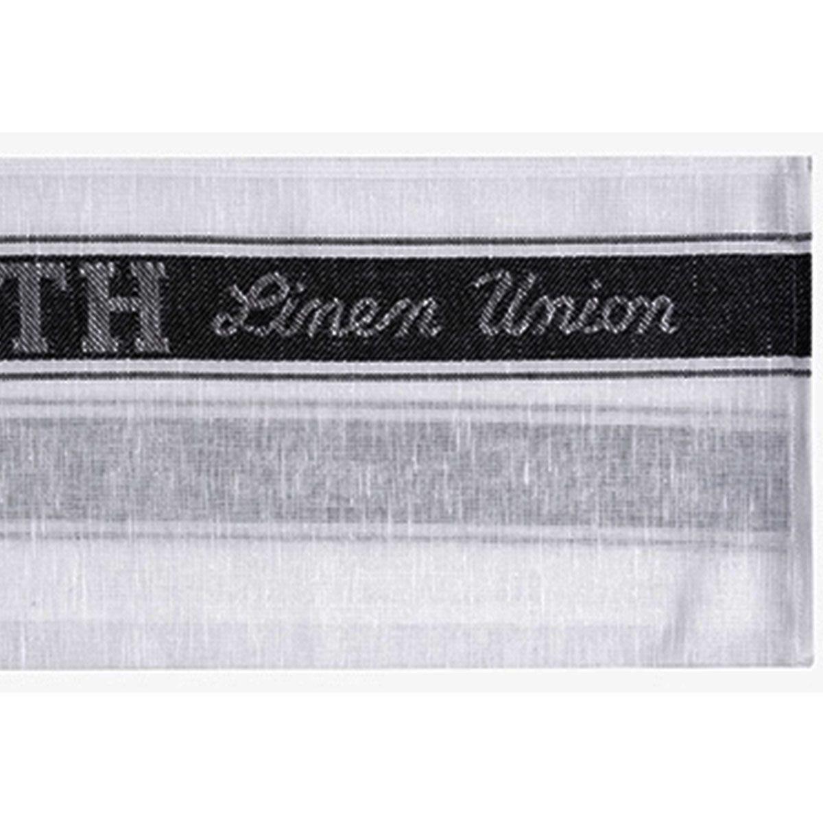 Le Chateau Linen Union Glass Cloth - Black