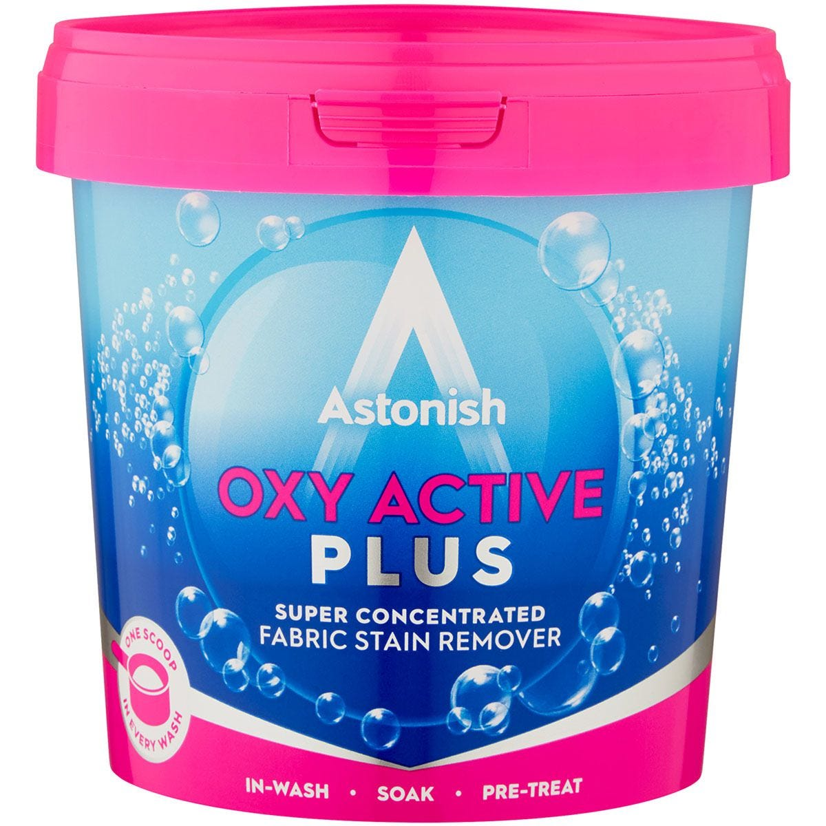 Astonish Oxy Active Plus Fabric Stain Remover - 500g