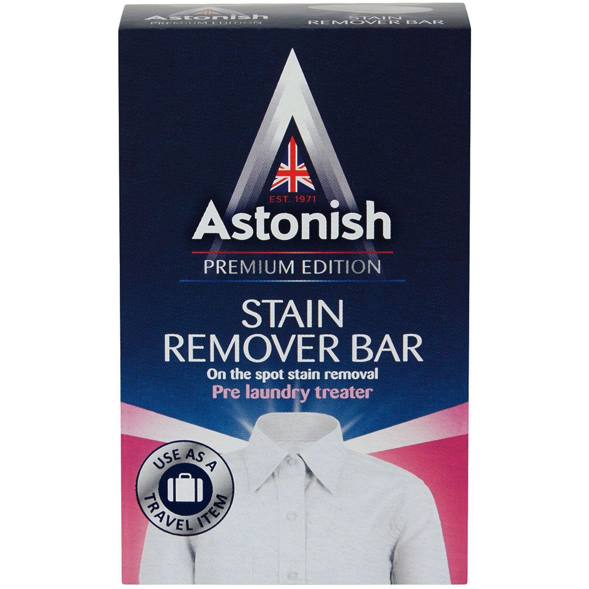 Astonish Premium Edition Stain Remover Bar