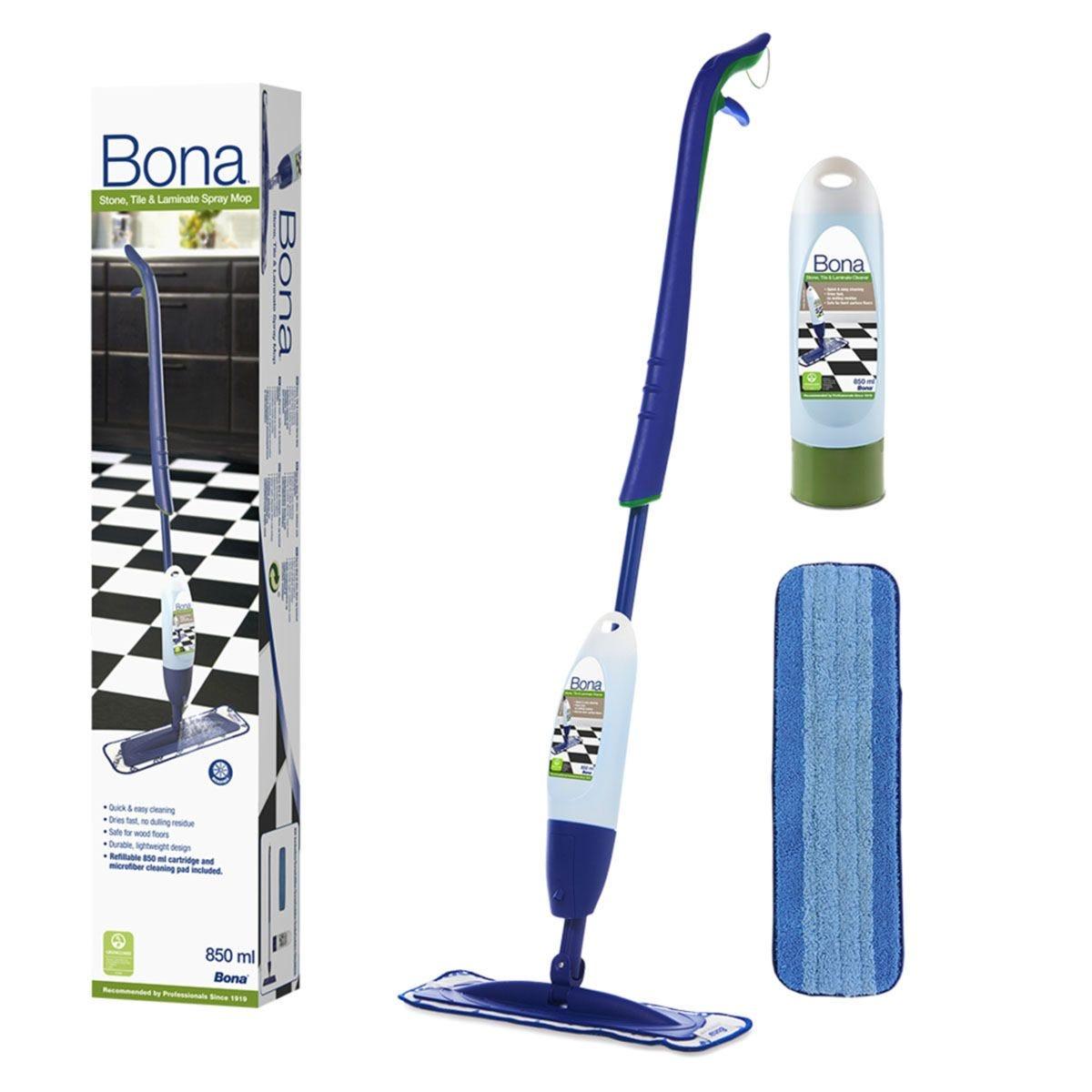 Bona Stone, Tile and Laminate Spray Mop Kit