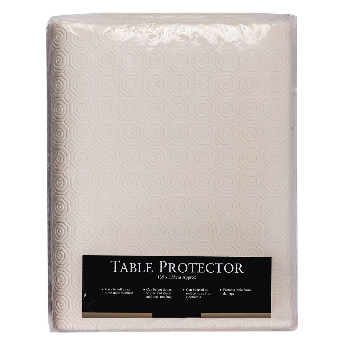Le Chateau PVC Table Protector - Ivory