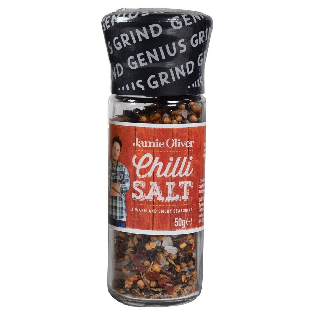 Jamie oliver chilli salt mill