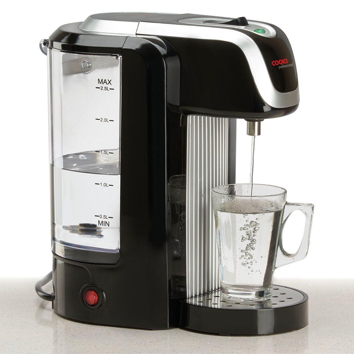 Cooks Professional Hot Water Dispenser - Black