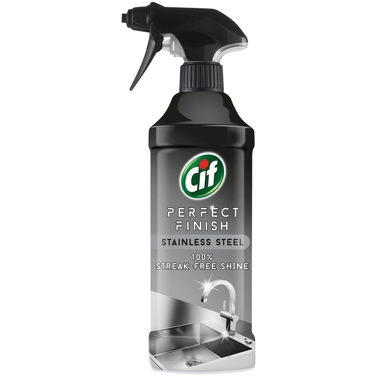 Cif Perfect Finish Stainless Steel Cleaner - 435ml