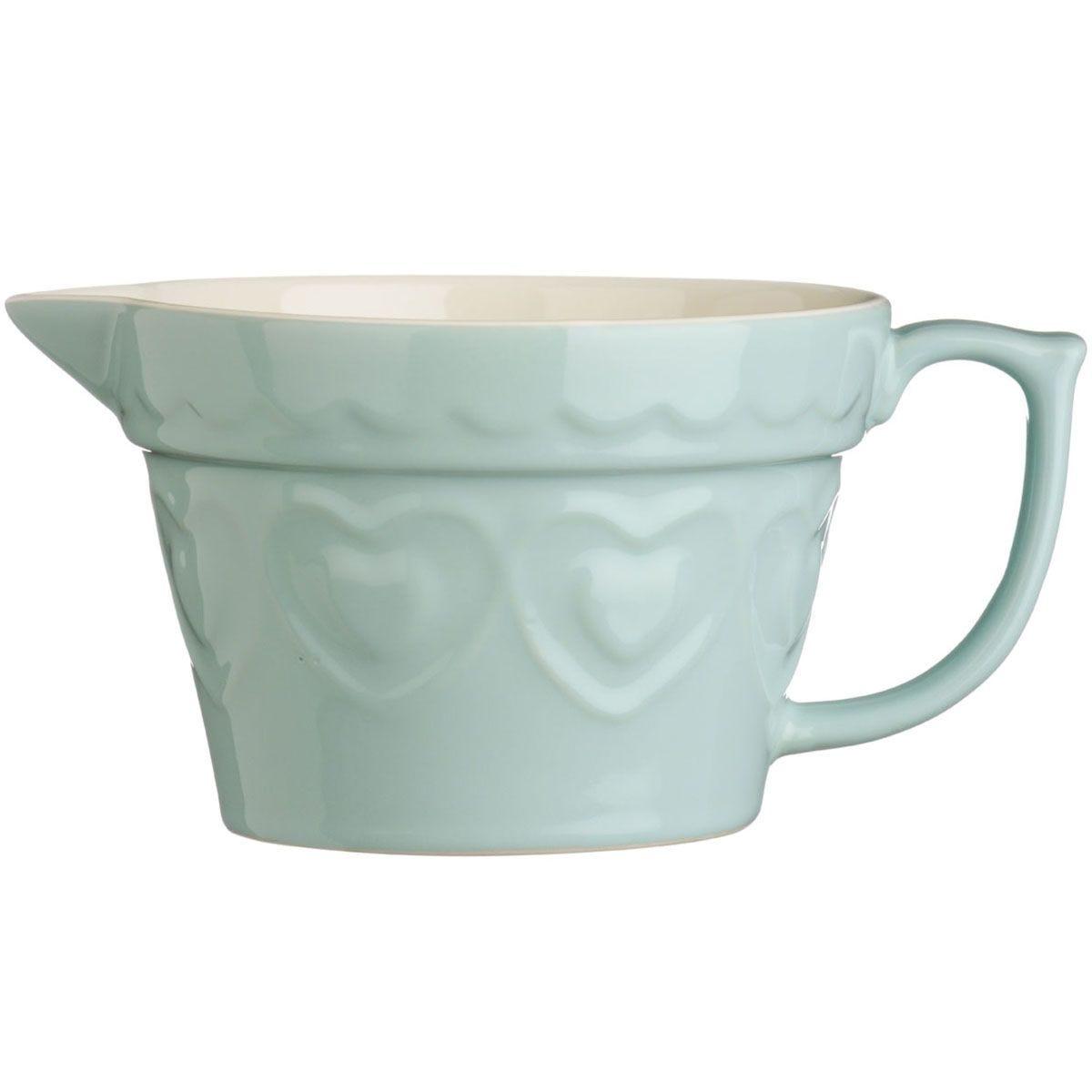 Premier Housewares 1.7L Sweet Heart Basting Jug - Green