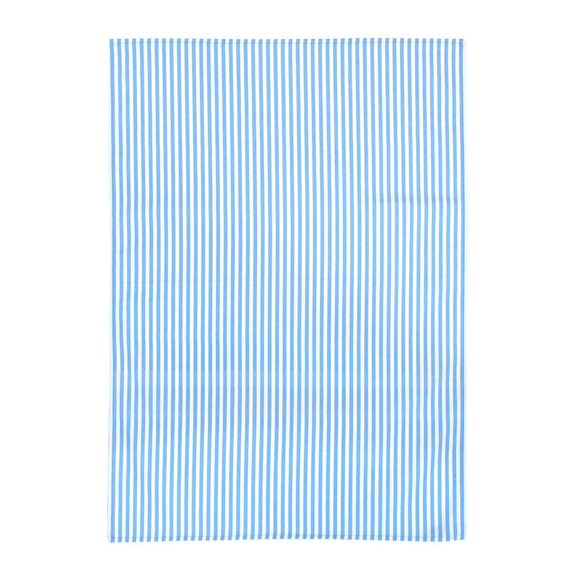 Blue Stripe Tea Towel