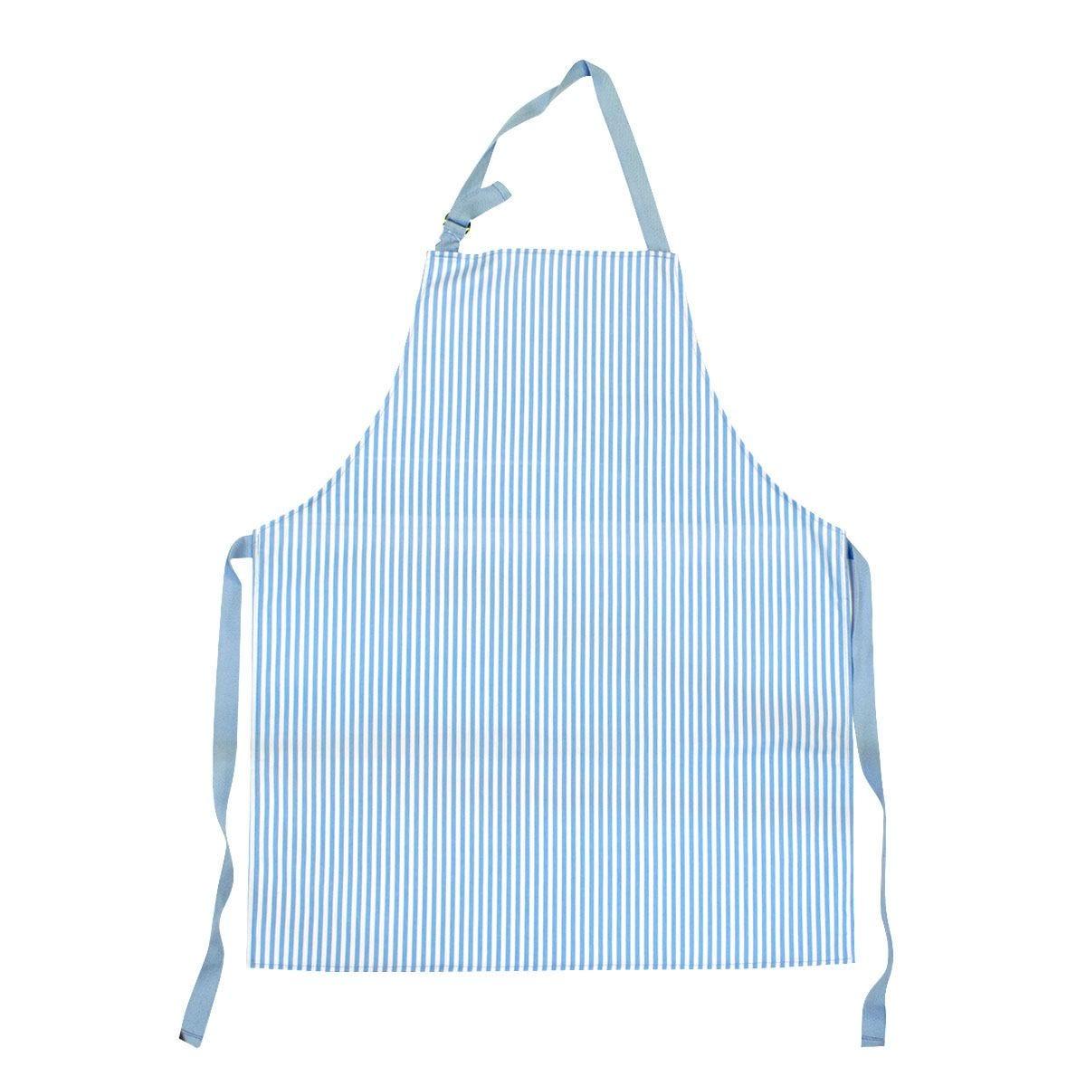 Blue Stripe Apron