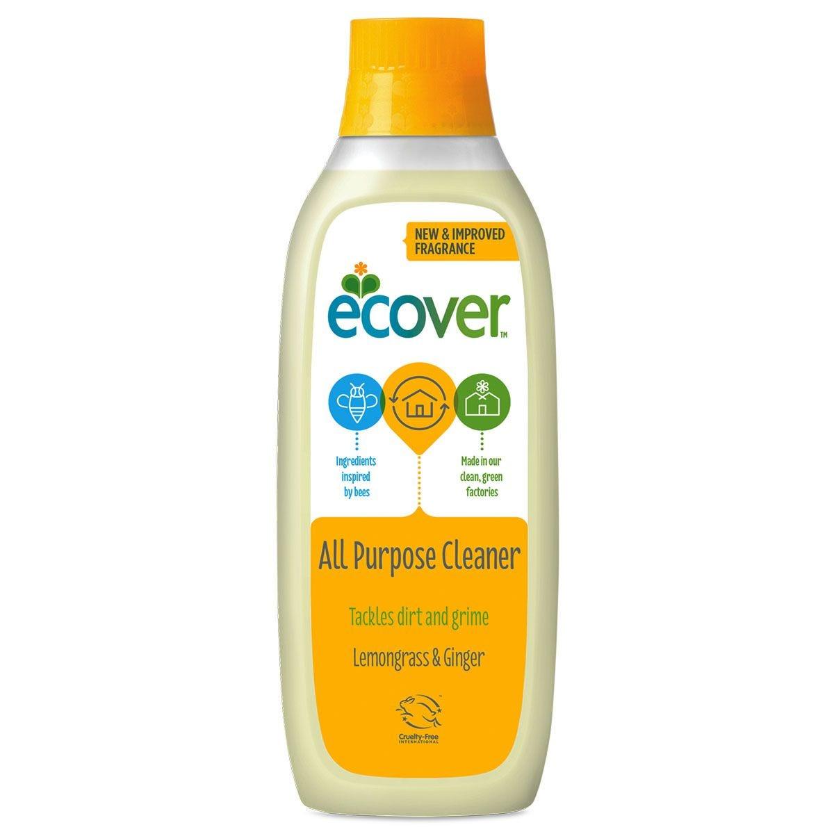 Ecover All Purpose Lemon & Ginger Cleaner - 1L
