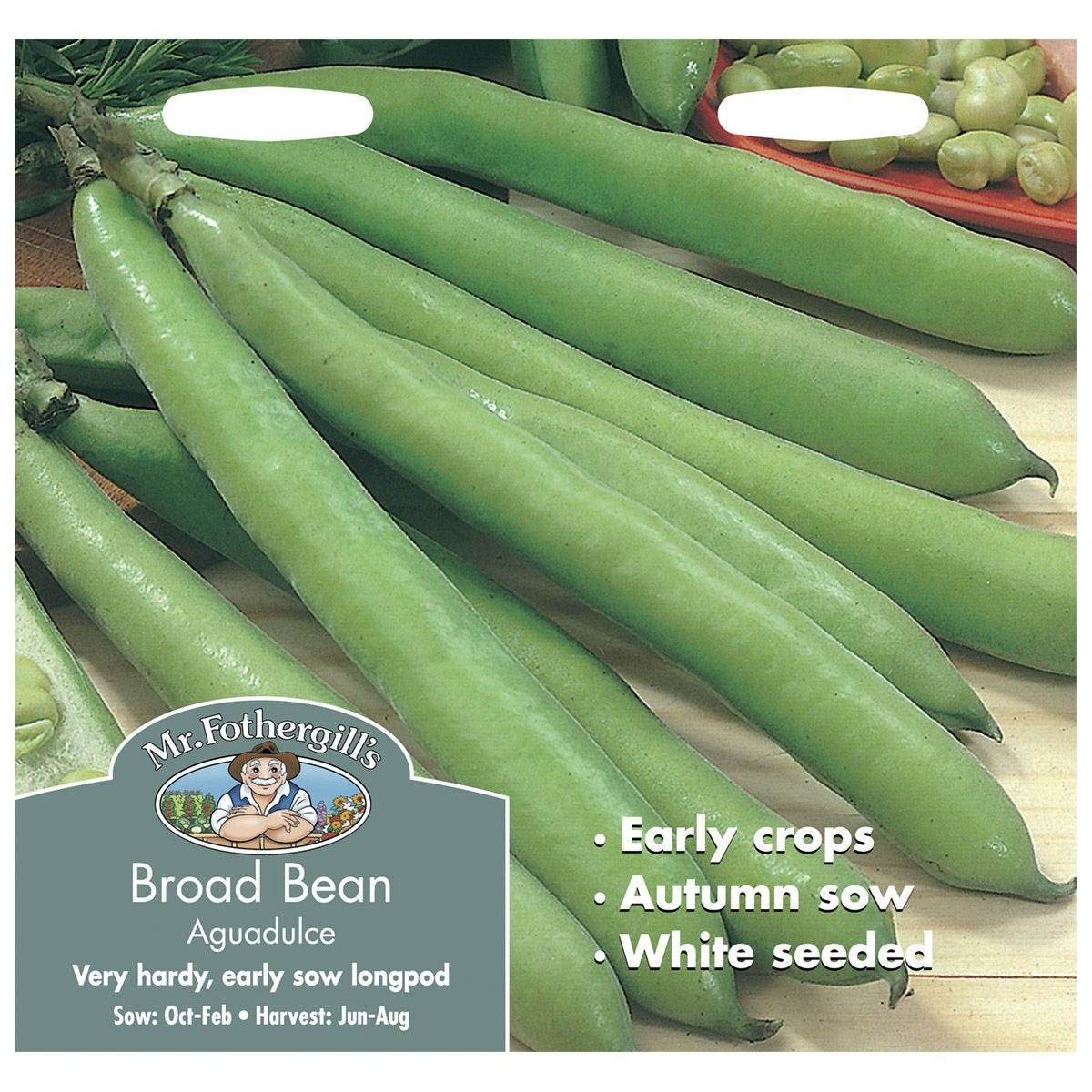 Mr Fothergill's Broad Bean Aguadulce Seeds